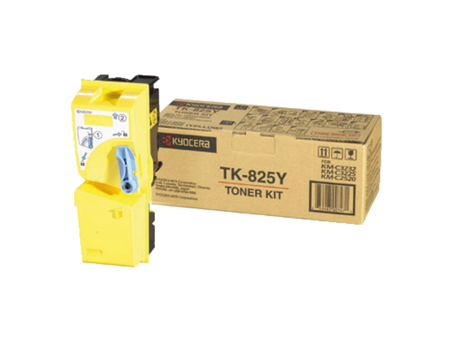 Toner kyocera tk-825y geel