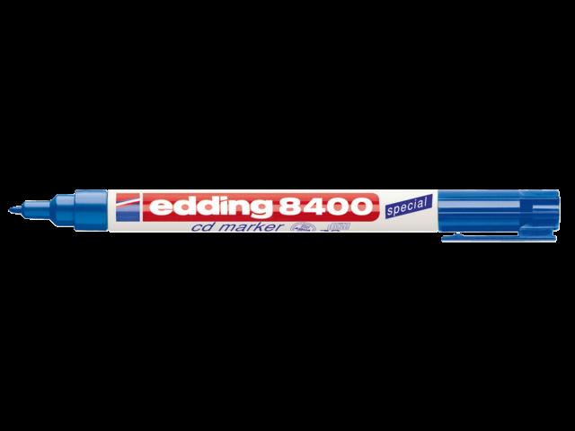 CD MARKER EDDING 8400 ROND 0.5-1MM BLAUW