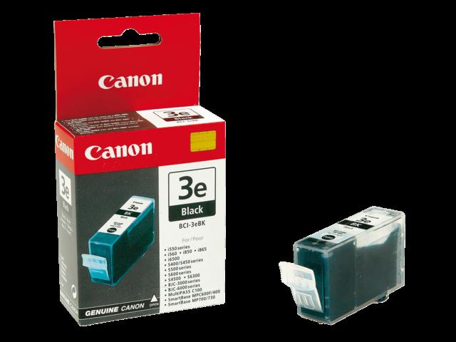 Inkcartridge canon bci-3ebk zwart
