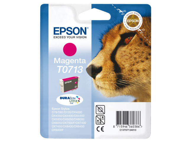 Inkcartridge epson t071340 rood