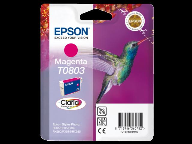 Inkcartridge epson t080340 rood