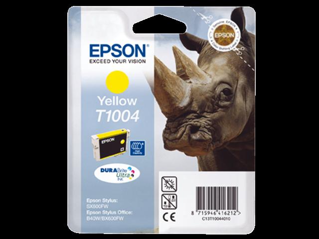Inkcartridge epson t100440 geel