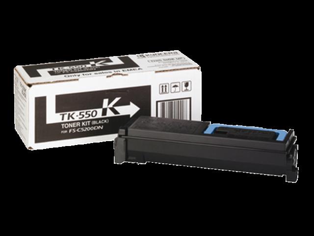 Toner kyocera tk-550k zwart