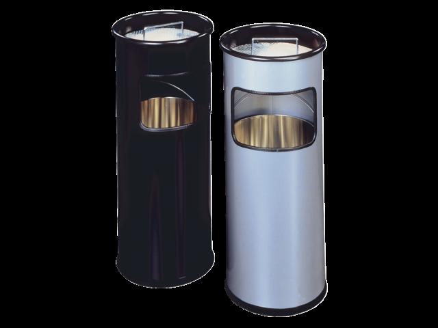 As-papierbak durable 3330-01 rond zwart