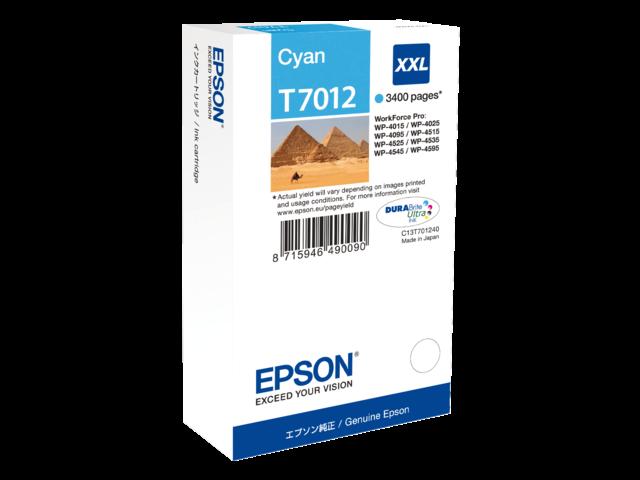Inkcartridge epson t701240 blauw hc