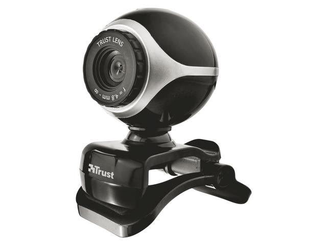Webcam trust trino hd video zwart/grijs