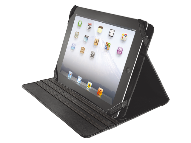 Tablettas universal folio stand for 10inch tablet zwart