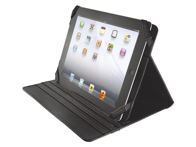 Tablettas universal folio stand for 10inch tablet zwart
