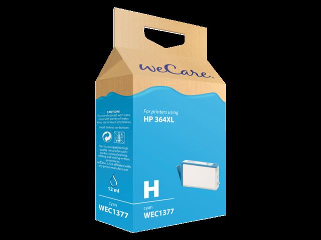 Inkcartridge wecare hp cb323ee 364xl blauw hc