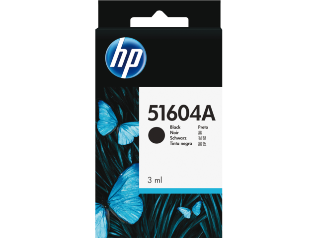 Inkcartridge hp 51604a 40 zwart