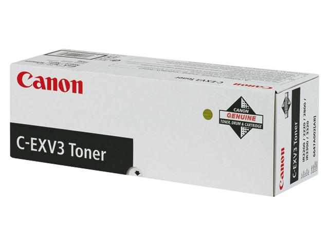 Tonercartridge canon c-exv3 zwart
