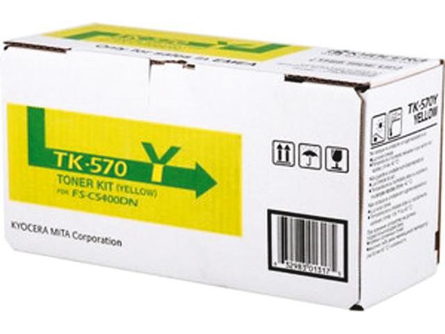 Toner kyocera tk-570y geel