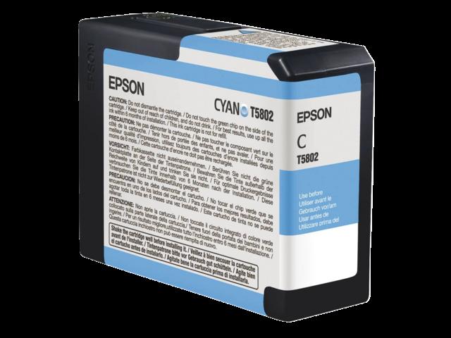 Inkcartridge epson t580200 foto blauw