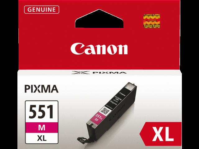 Inkcartridge canon cli-551mxl rood hc