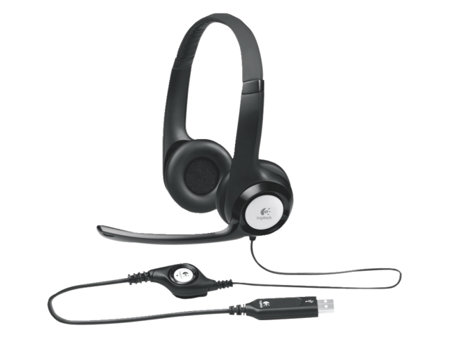 Headset logitech h390 antraciet