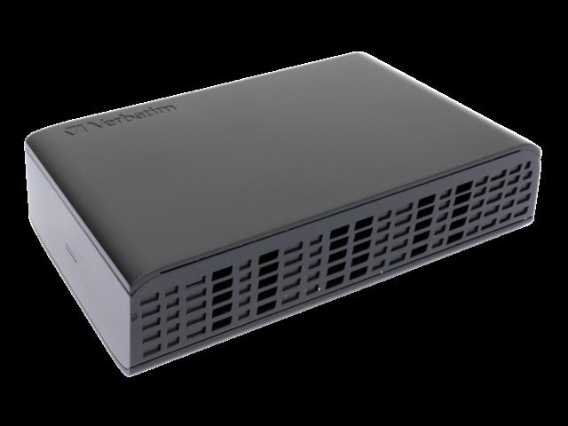 Harddisk verbatim store'n'save 3tb 3.5 inch usb 3.0 zwart