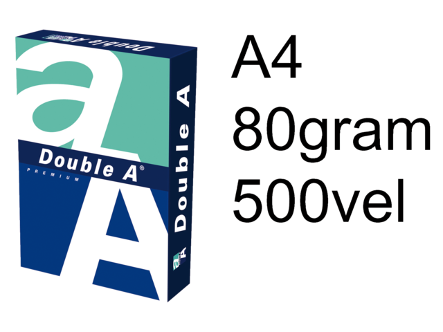 Photo: KOPIEERPAPIER DOUBLE A A4 80GR WIT