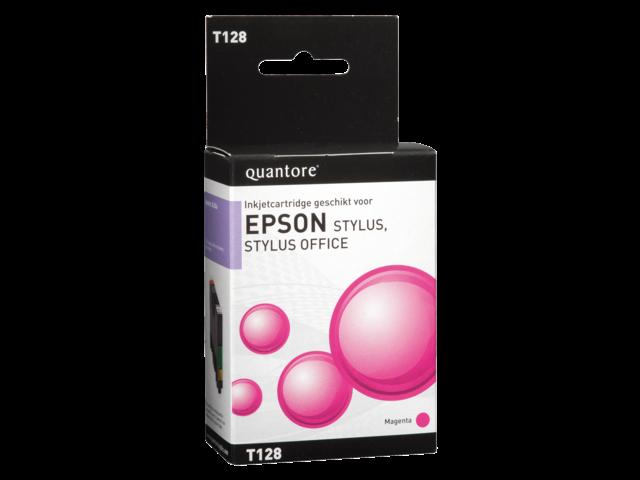 Inkcartridge quantore epson t128340 rood