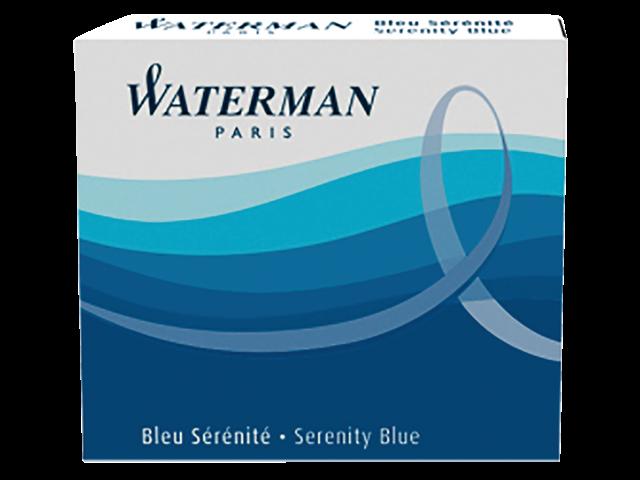 Inktpatroon waterman nr23 lang blauw