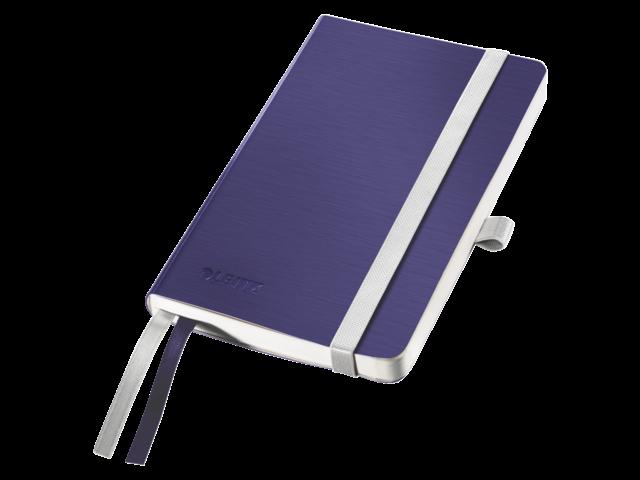 Notitieboek leitz style zachte kaft a6 titaniumblauw