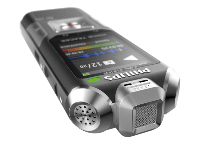 Digital voice recorder philips dvt 6000