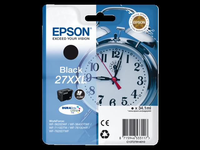 Inkcartridge epson 27xxl t279140 zwart ehc