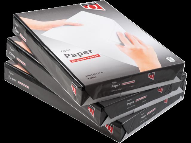 Kopieerpapier quantore excellent a3 80gr wit 500vel