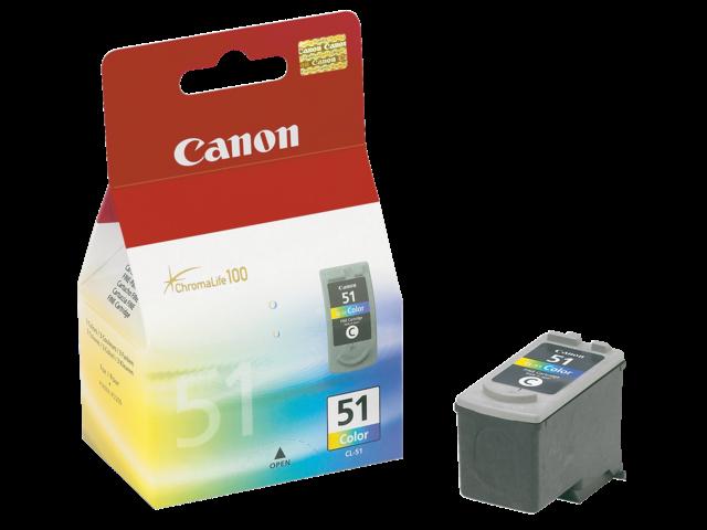 Inkcartridge canon cl-51 kleur