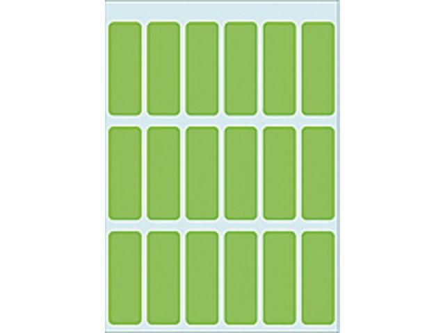 Etiket herma 3655 12x34mm groen 90stuks