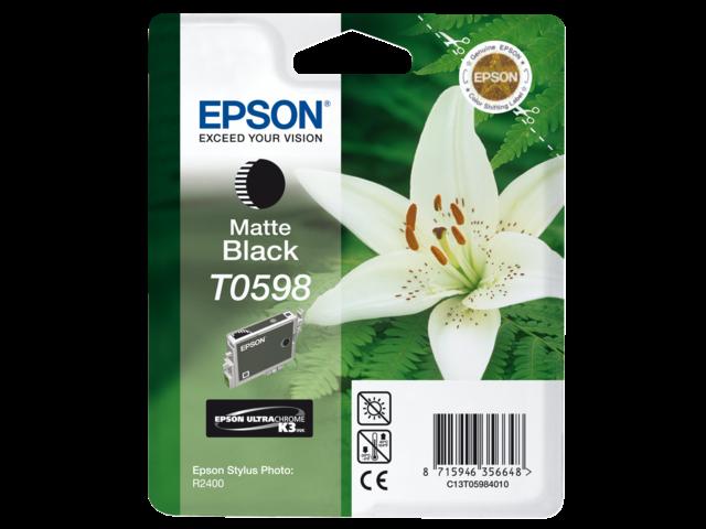 Inkcartridge epson t059840 mat zwart