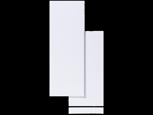 Ruiterstrook voor alzicht hangmappen a5847-10 100mm wit