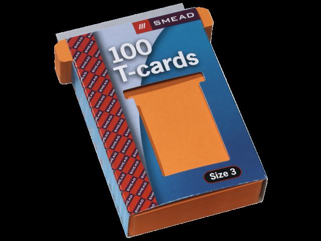 PLANBORD T-KAART A5548-323 77MM ORANJE