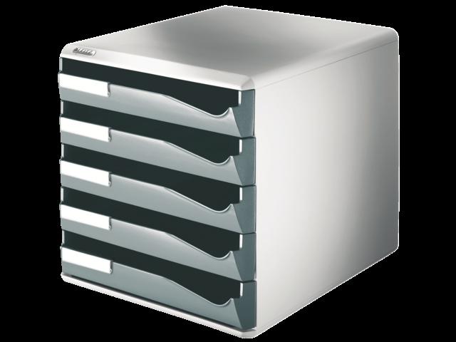 Leitz ladenbox met vijf laden 5280