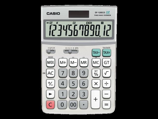 Rekenmachine casio df-120 eco