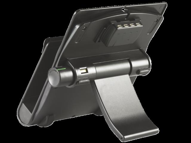 Laptopstandaard kensington + usb 2.0 4 poorten zwart