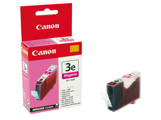 Inkcartridge canon bci-3em rood