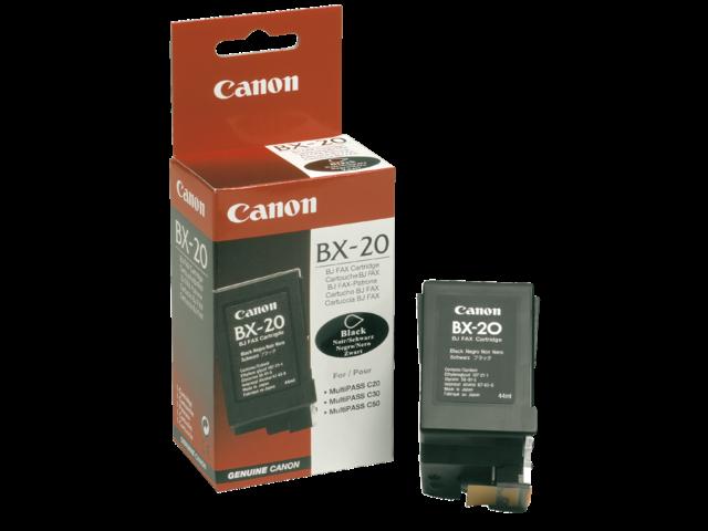 Inkcartridge canon bx-20 zwart