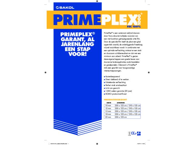 primeplex 20 jaar garantie fsc mix 70 goedkoop bouwmaterialen. Black Bedroom Furniture Sets. Home Design Ideas