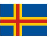 Flagge Åland