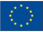 Europa und Gastlandflaggen
