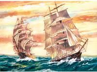 Malen nach Zahlen maxi Segelboote