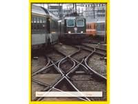 Cahiers commerc. 4x7 mm trein geel formaat 16,5x21 cm, 80 grs.