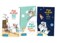 AVI groeiboeken Piet en Riet (3 titels)