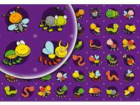 Beloningsstickers Funny Bugs 20 48 motieven, 960 stickers