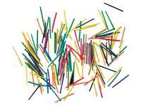 Luciferhoutjes gekleurd 1000 stuks