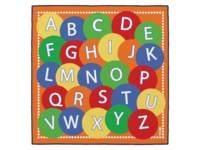 Speelmat groot met Alfabet