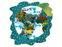 Designpapier planeet aarde | 144 vel