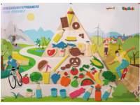 PlayMais® MOSAIC kaarten voedsel pyramide