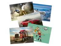 Beloningskaarten 8312 voertuigen/sport, 20-30 motieven, 480 stuks
