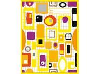 Cahiers 3000 serie comm. 4x7 mm, geel FSC formaat 16,5x21 cm, 80 grs